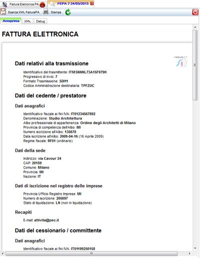 fatture elettroniche eni