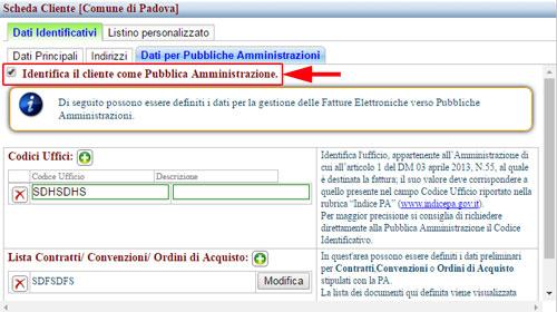 dati pubbliche amministrazioni